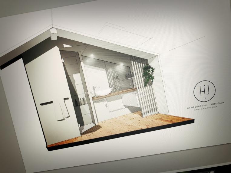 HP DECORATION_Salle de bain sur mesure_Architecture intérieure